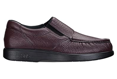 San Antonio shoe Men's SAS, Sidegore Slip on Shoes Cordovan 15 WW