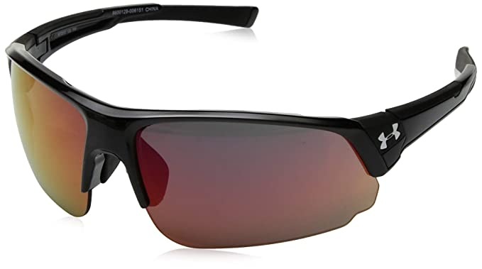 c217132023 Amazon.com: Under Armour Ua Change Up Dual Wrap Sunglasses Black ...