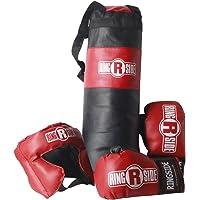 Ringside Youth Kids Boxing Kit Training Bag Set Punching Bag Gloves Heavy Bag Bundle
