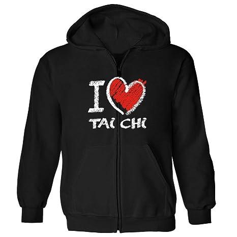 I Love Tai Chi Zip Hoodie px6qSUm0kg
