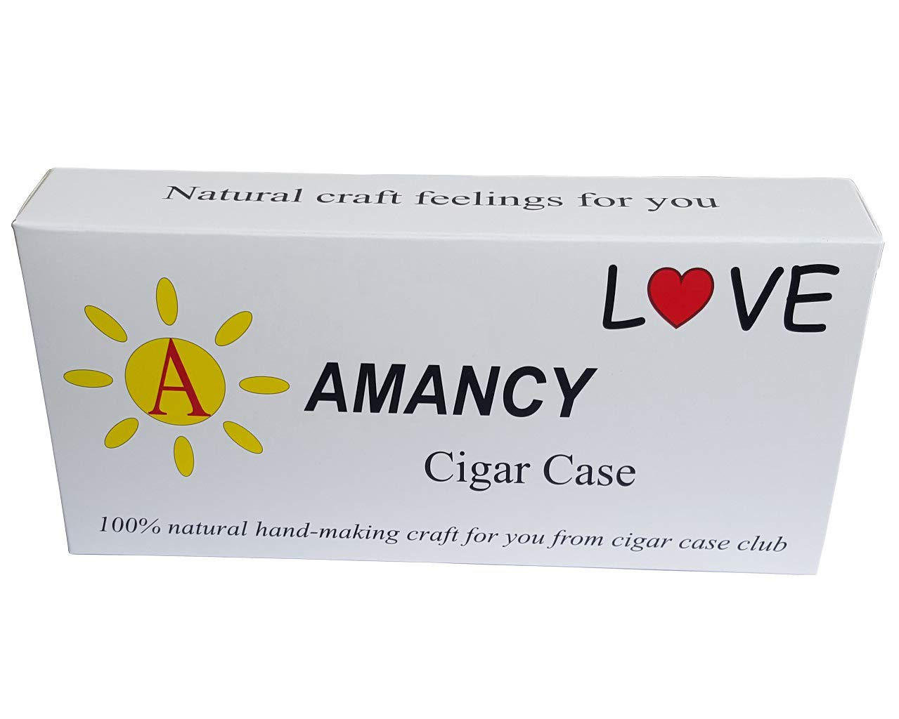 Amazon.com: Caso de cigarrillos amancy, Marrón, 1: Health ...