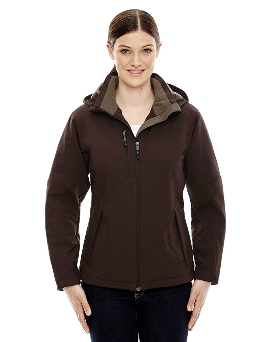 North End Womens GlacierInsulated Soft Shell With Detachable Hood - 78080 Ash City - North End M10162