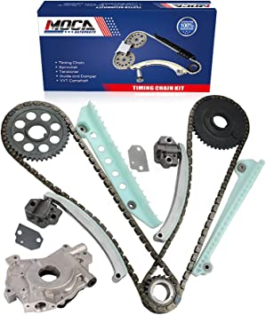 MOCA Timing Chain Kit for 1997-2000 Ford Mustang /& Ford F-150 /& Ford Expedition /& Ford E-150 Econoline 4.6L V8 SOHC Windsor
