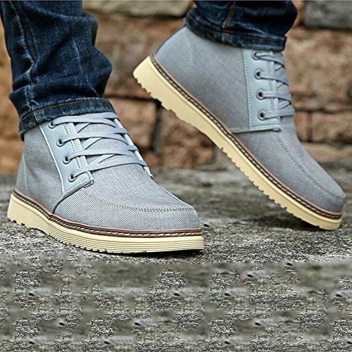 Help EU43 Größe High Frühling 4 CN44 Farben Schuhe 03 Herbst Farbe Tuch Feifei und Herrenschuhe UK9 Freizeit 6wSOqY