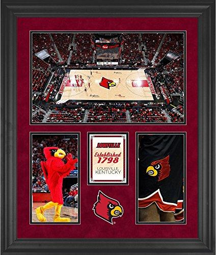 Louisville Cardinals KFC Yum! Center Framed 20