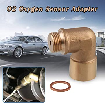 1x O2 Oxygen Sensor Test Pipe Extension Extender Adapter Spacer M18 X 1.5 Fast