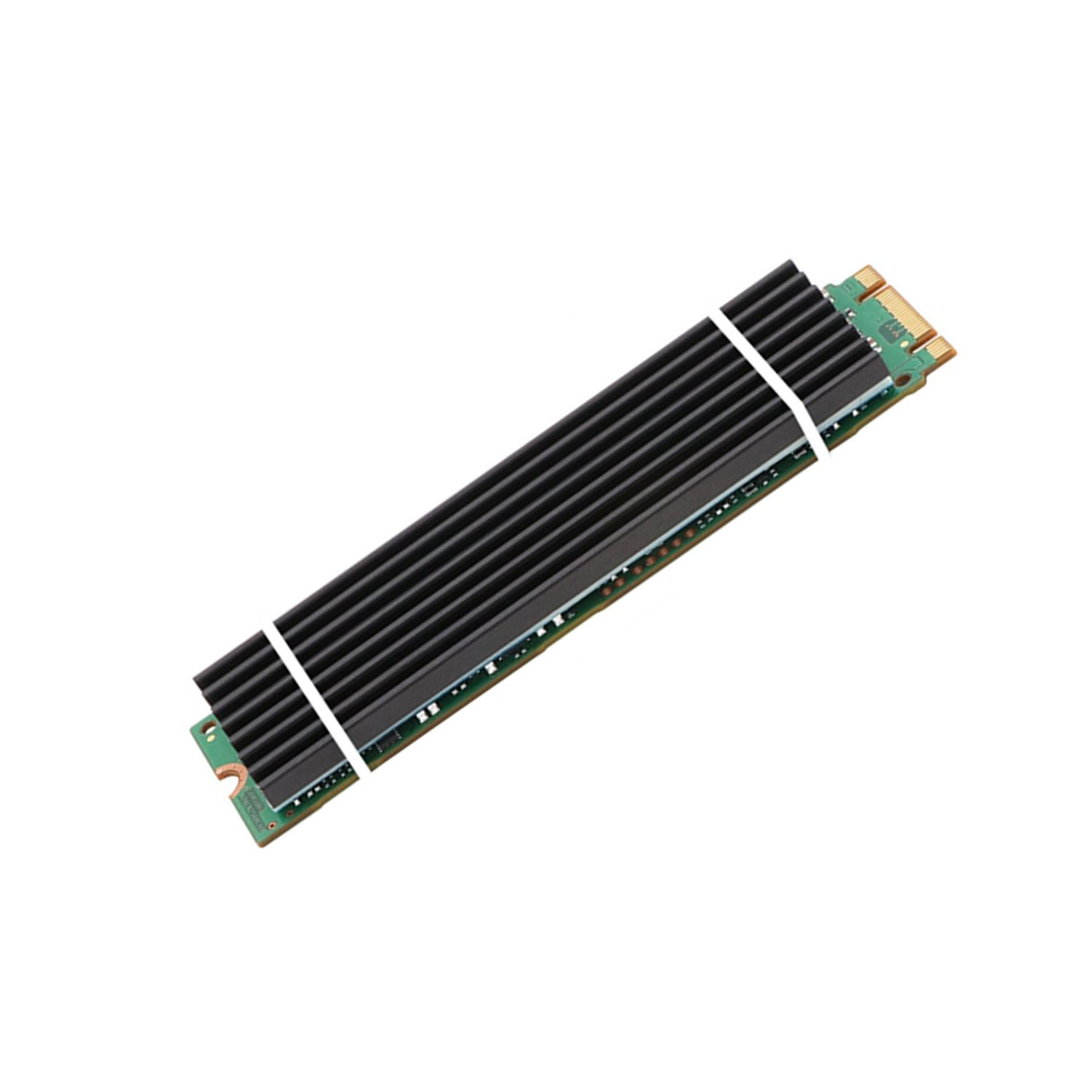 Aluminum Heatsinks for PCIe NVMe M.2 2280 SSD with Silicone Thermal Pad, DIY Laptop PC Memory Cooling Fin Radiation Dissipate (Ordinary Edition) by Angel mall (Image #3)