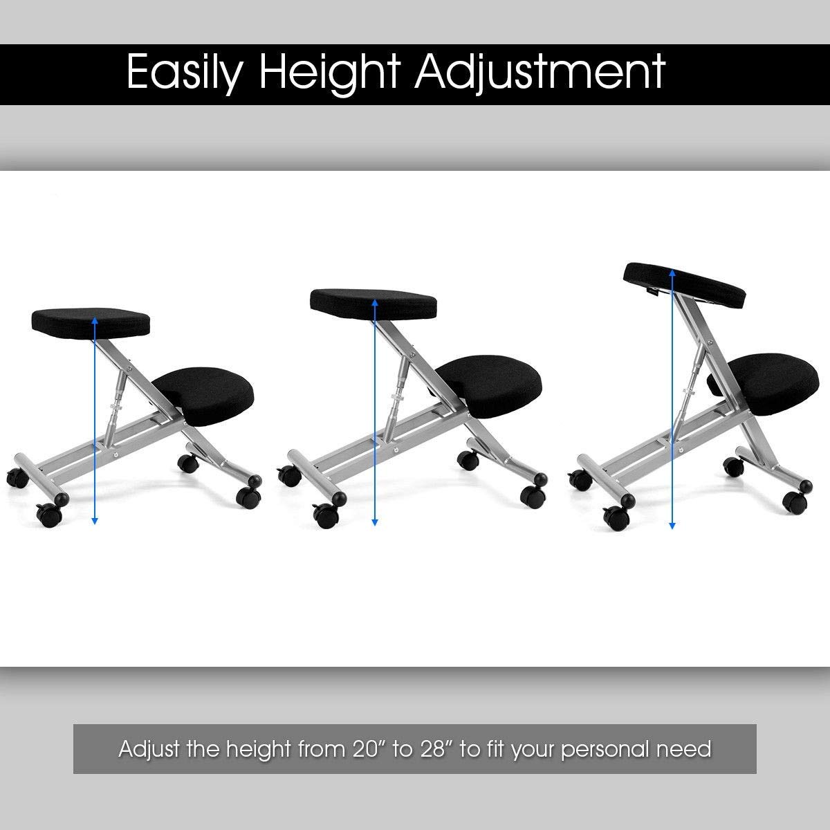 Amazon.com: Kovalentor - Silla ergonómica para arrodillarse ...