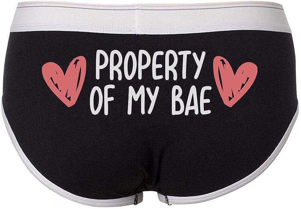 Property of My Bae Bella Ladies Boyfriend Briefs Underwear Womens