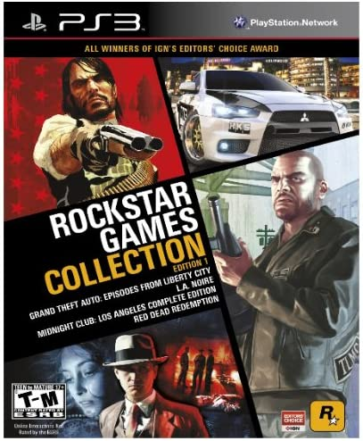 Amazon com: Rockstar Games Collection Edition 1