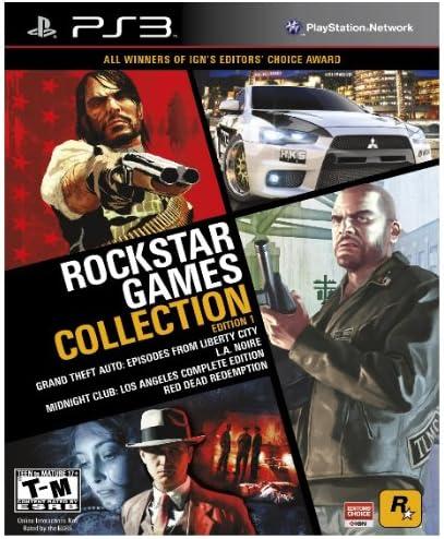 Take-Two Interactive Rockstar Games Collection Edition 1, PS3 - Juego (PS3): Amazon.es: Videojuegos
