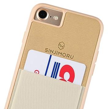 Sinjimoru Funda para iPhone 7 / iPhone 8 con Soporte para Tarjeta, Funda para Tarjeta iPhone 7 / iPhone 8 con Billetera para Tarjetas. Sinji Pouch ...