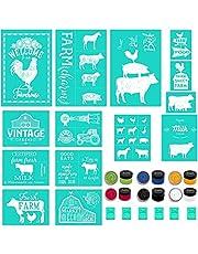 Chalk Couture Farmhouse Stencils Silk Screen Stencils PAINTS TRANSFER