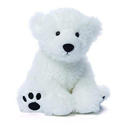 "GUND Fresco Polar Teddy Bear Stuffed Animal Plush, White, 10"": Toys & Games"