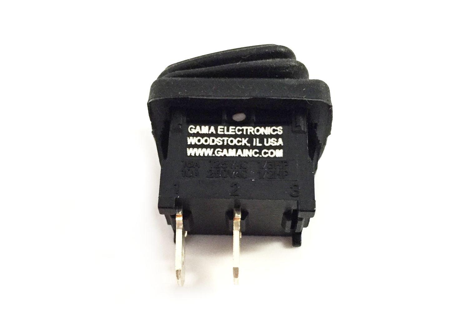Gama Electronics Waterproof Mini Off On Rocker Switch Rockers Illuminated Non Switches Spst Automotive