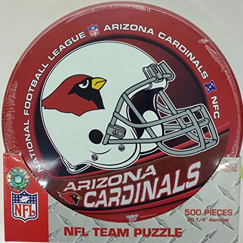 Piece Puzzle 500 Cardinals - Wincraft NFL Arizona Cardinals 500-piece, 20 1/4