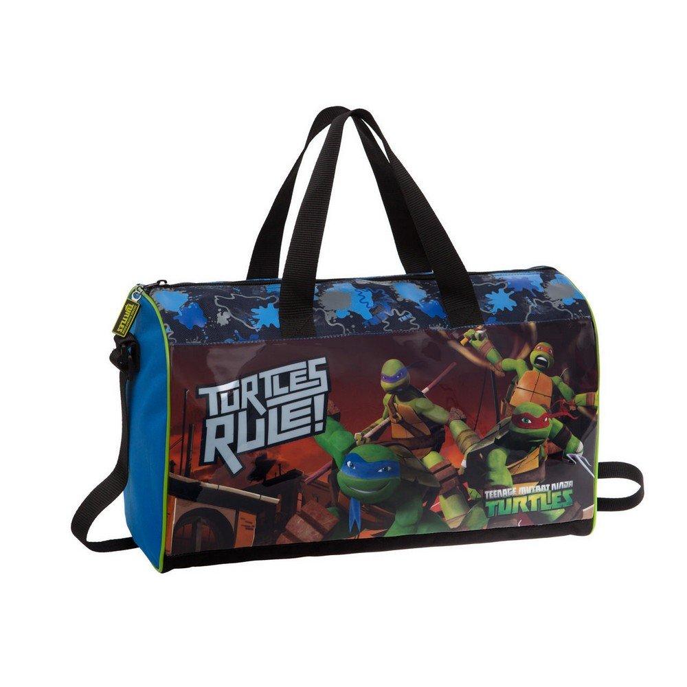 Tortugas Ninja Bolsa de Viaje, 21.17 litros, Color Azul ...