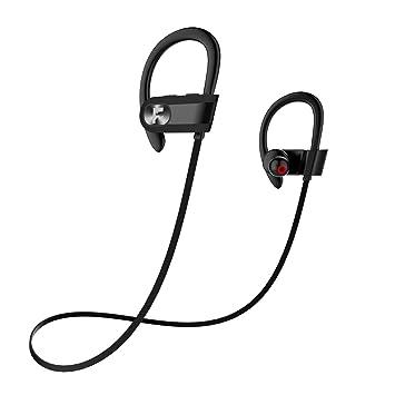 Auricular Deportivo Inalambrico Manos Libres, Bluetooth 4.1 con Micrófono Incorporado, Autonomía Estándar 8h Máx