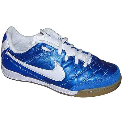 5a49d7e448f8a Amazon.com   Nike Tiempo Natural IV Leather Indoor(Soar/White) (13 ...