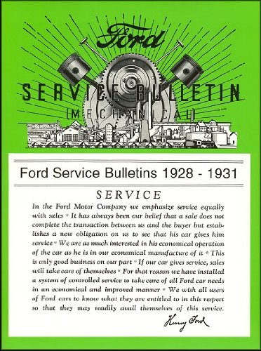 model a ford service bulletins - 5