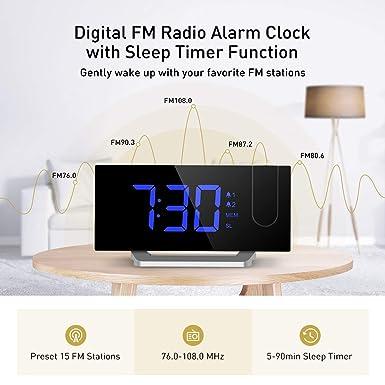 [Regalo] Radio Despertador Digital Proyector, Pantalla LED 5