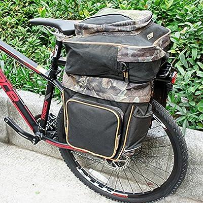 MAIKEHIGH Ajustable Carrier Trasera para Bicicleta portaequipajes ...