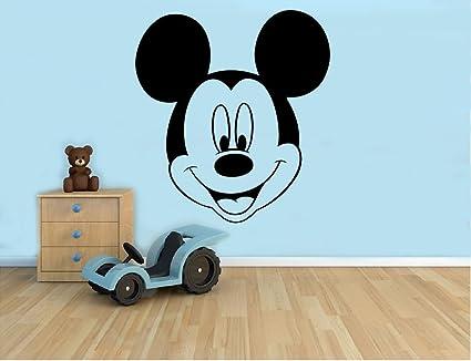 Vinilos Mickey Mouse Para Pared.Calcomania Decorativo Para Pared De Mickey Mouse Disney