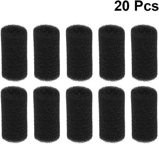 BESPORTBLE 20 Piezas de Prefiltro de Espuma de Esponja de Filtro ...