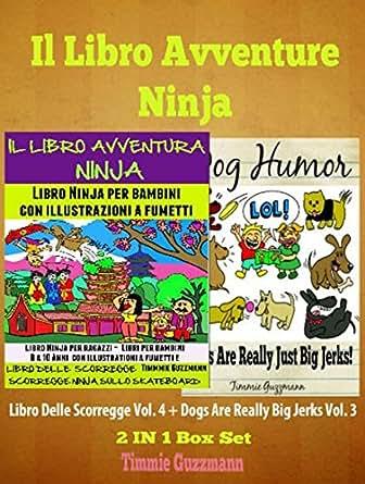 Amazon.com: Il libro Avventure Ninja: Libro Ninja per ...