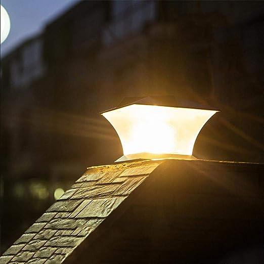 Seasaleshop lámpara Solar Exterior 24LED Aplique Exterior ...