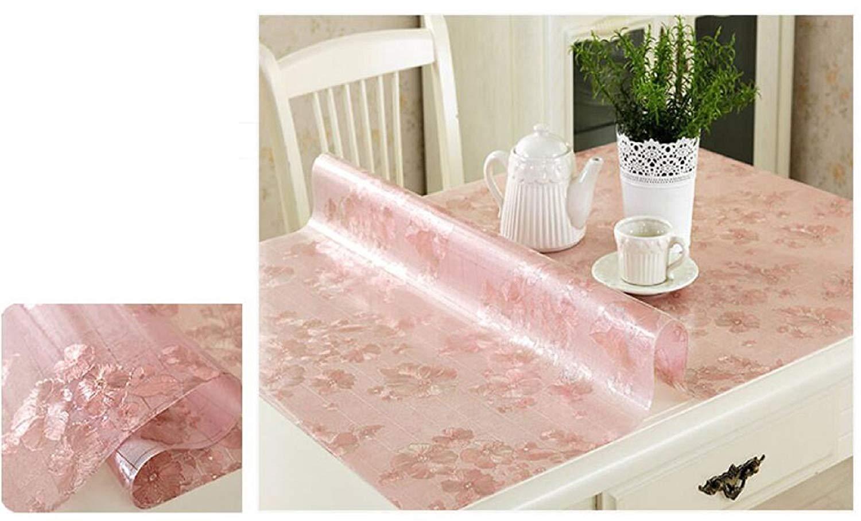Shuangdeng 防水ポリ塩化ビニールのテーブルクロス、台所ダイニング居間のコーヒーテーブルおよび机のためのテーブルカバーの使い捨て可能なoilesistant   B07S79ZM1W