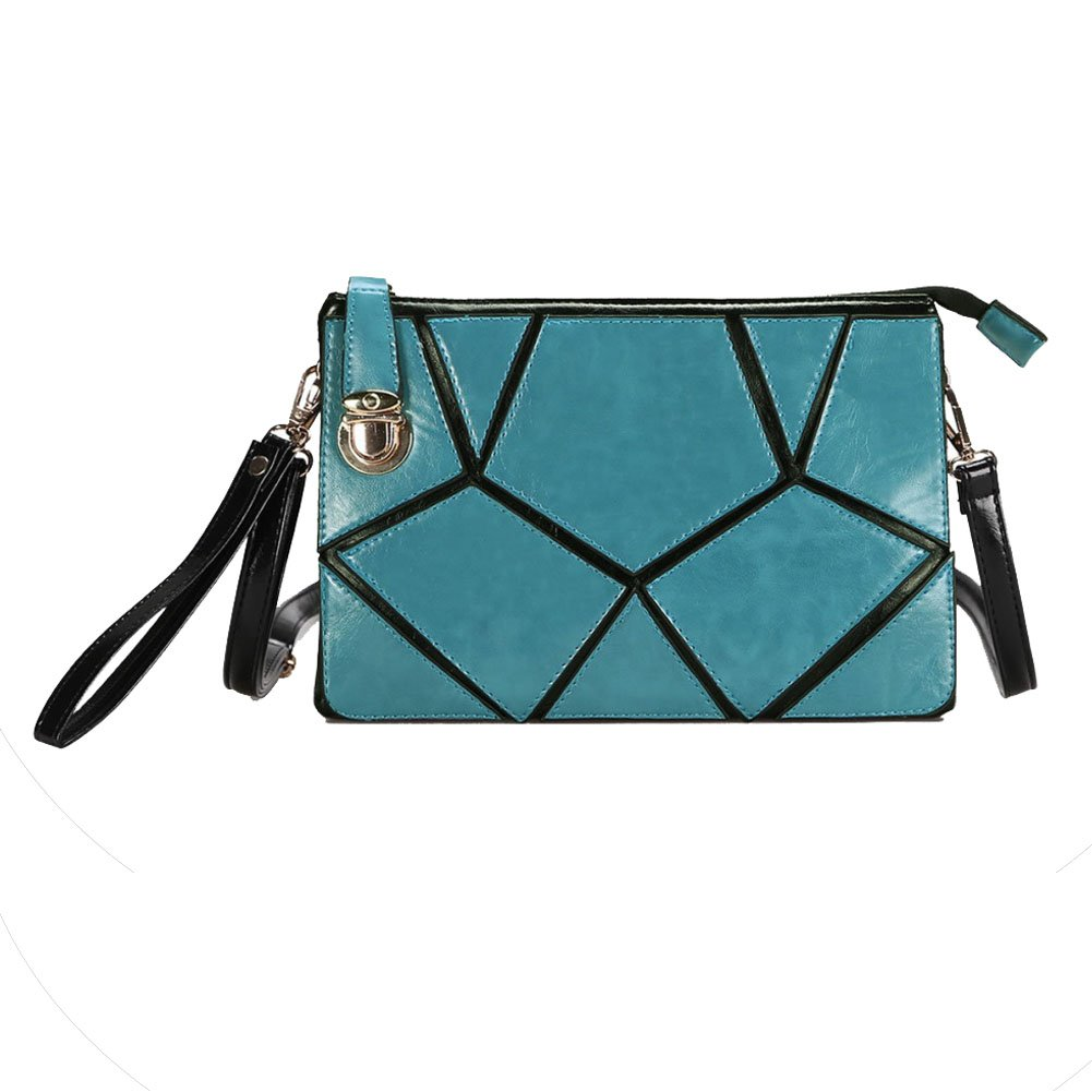 FCZERO HB10038 PU Leather Handbag for Women,Fine /& Fashion Quilted Lock Bag