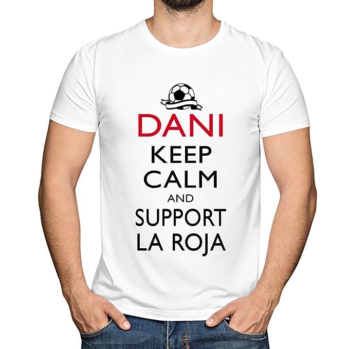 Camiseta Personalizada con Nombre Keep Calm La Roja ...