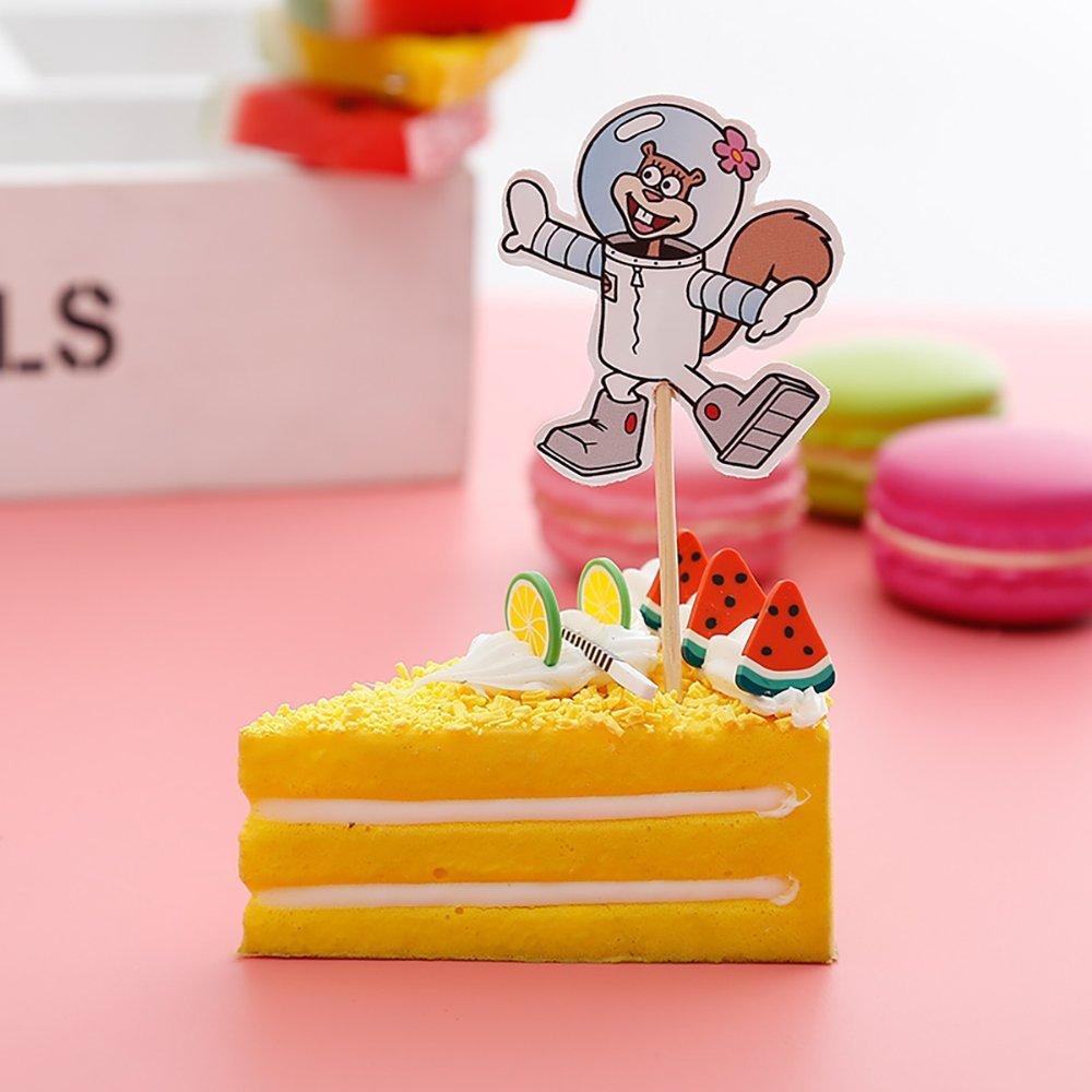 Cupcake Toppers - Juego de 24 accesorios para fiesta de ...