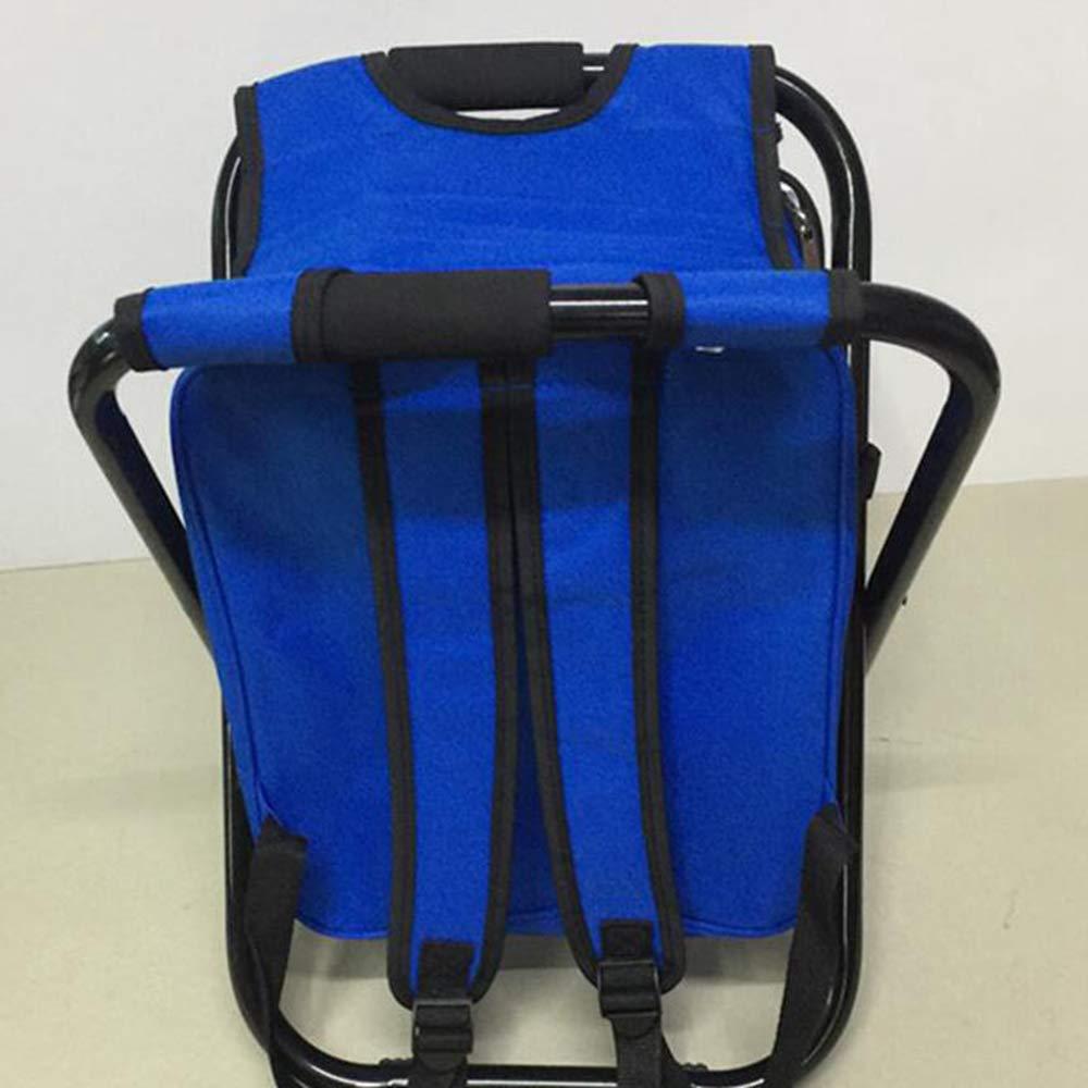 LIUQIAN Sedie da campeggio Sedia pieghevole per esterni sedia da spiaggia sedia ghiaccio sedia pieghevole sedia da pesca può essere indietro può sedersi borsa del ghiaccio chai