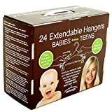 grohanger Extendable Kids Clothes Hangers (24)