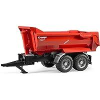 BRUDER - 02225 - Remorque basculante KRAMPE - Rouge
