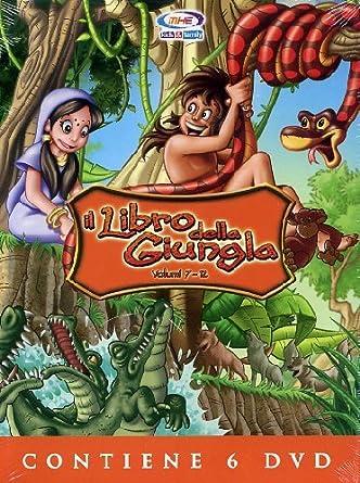 Vhs il libro della giungla walt disney cartoni animati eur