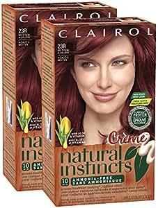 clairol natural instincts 23r rasberry