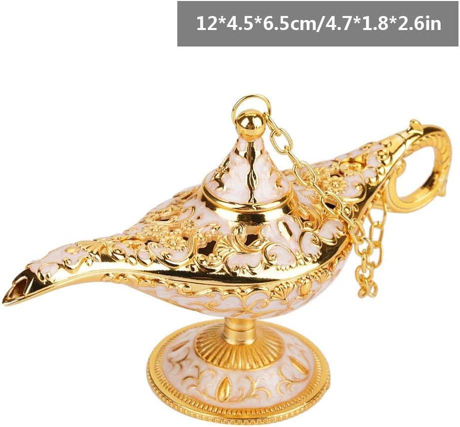 Lampe Genie Light Lumi/ère Aladdin Magie Lampe Genie Light en M/étal Sculpt/é Creux Lampe Legend Souhaitant un Pot de Lampe D/écor #1