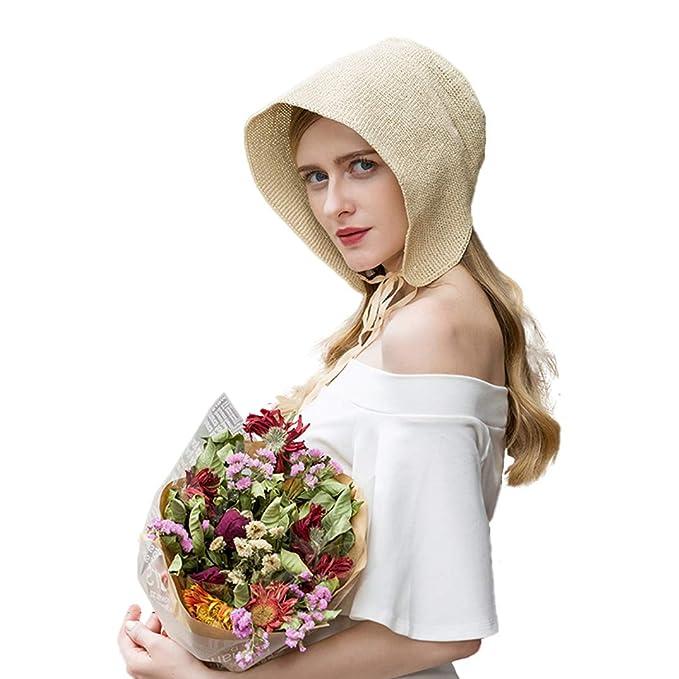 5ddfcf75d Moda para Mujer Sombrero de Paja Salvaje del Verano Lindo Dulce ...