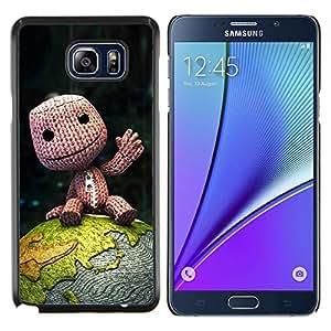 Cubierta protectora del caso de Shell Plástico    Samsung Galaxy Note 5    Naturaleza japonesa Fantasía Forrest @XPTECH