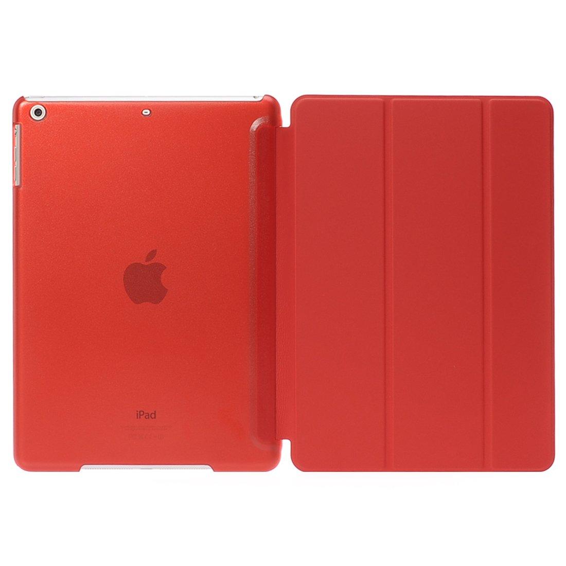 当店の記念日 ipad Air 2ケースの空気は B01KZE4O0C (レッド)、本物の革のフリップカバーフォリオケース超薄磁性ipad ipad 6 ケースカバースタンドとバックアップルipad Air 2 のためのケース (レッド) レッド B01KZE4O0C, Phone's mart:3cd2ee74 --- a0267596.xsph.ru