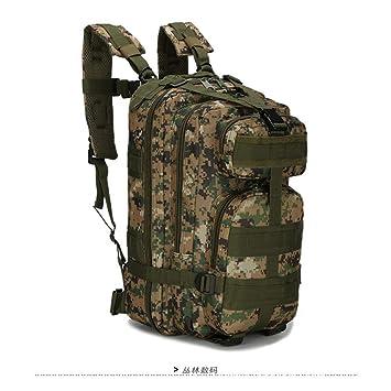 JKLSNMA Zapatos para Caminar Mochilas Militares de Nylon 30L ...