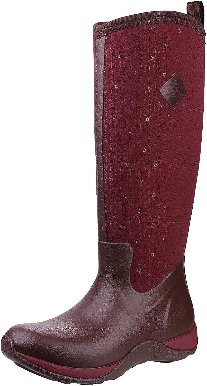 Muck Boots Arctic Adventure (Quilted Print), Bottes & Bottines de Pluie Femme Cordovan Quilt