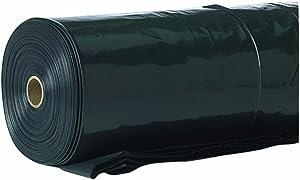 Covalence Plastics 4ML BLK 20X100 20-by-100-Feet 4-Millimeter Tyco Polyethylene Plastic Sheeting, Black