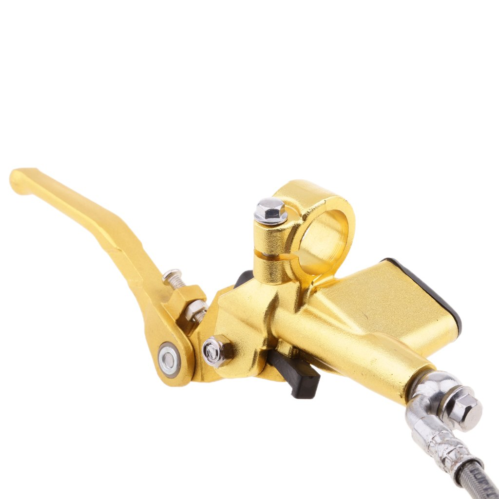 Sharplace Embrague Hidr/áulico Cable de Motocicleta Montaje Manillar 22mm Oro