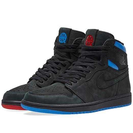Nike Air Jordan Retro 1 High OG US 9 -14 Quai 54 Q54 AH1040-054 BLUE RED Bred