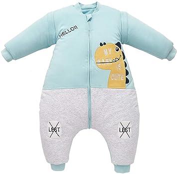 Mädchen Babyschlafsack Beinen Winter Kinderschlafsack Jungen abnehmbar Langarm
