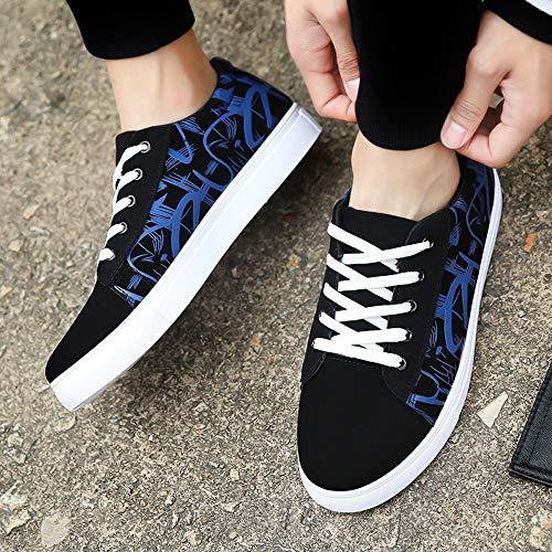 Mesh Chaussures Décontractées Respirant Cathyoyo Homme Sport De Bleu Mode Sneakers Travail wI7xSqdC6